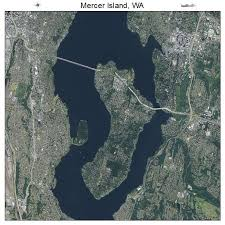 mercer map aerial photography map of mercer island wa washington