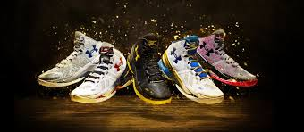 stephen curry two basketball shoes armour us in