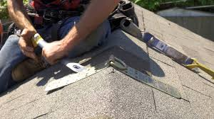 R S Roofing by How To Install A Temporary Roof Anchor Youtube