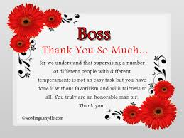 thank you notes to boss office minister thank you letter to boss
