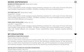 sle executive resume marketing executive resume best market 2017