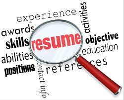 resume preparation preparing a resumé working in the food service industry