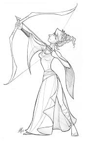 11 images of artemis greek goddess coloring page greek goddess