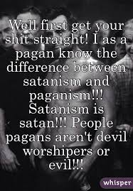 get your i as a pagan the difference