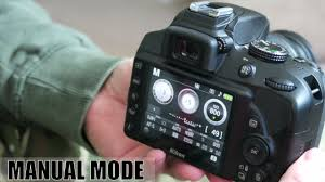 how to use manual mode on a nikon d3400 youtube