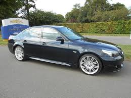 used bmw 5 series estate for sale used bmw 5 series 2006 diesel 535d m sport saloon blue edition for
