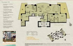 house plan majestic beach resort floor excellent mosaic miami