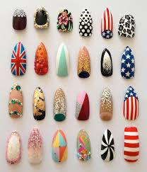 30 cool acrylic nail designs