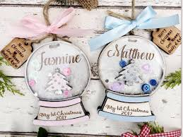 Baby S First Christmas Bauble 2012 Personalise by 1st Christmas Bauble Personalised Bauble 1st Christmas