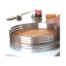 cercle de cuisine cercle de cuisine ard cercle a gateau a trancher inox recette