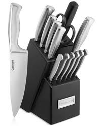 cutlery kitchen knives cuisinart classic stainless steel 15 pc cutlery set cutlery
