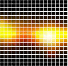 square mosaic vector background corner design stock vector 522262801 shutterstock black orange yellow rounded mosaic background over white square