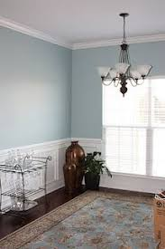 love the front door stratton blue with wood trim benjamin moore
