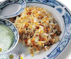 cuisiner le riz basmati riz basmati aux lentilles corail betty bossi