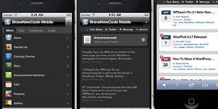 new free wordpress mobile themes