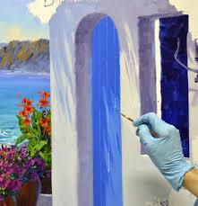 mikki senkarik original oil paintings in progress