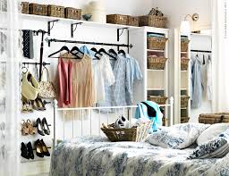 storage ideas for small bedrooms with no closet descargas