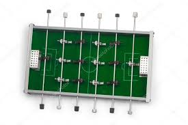 electronic table football game table football game is isolated board game stock photo maxximmm1