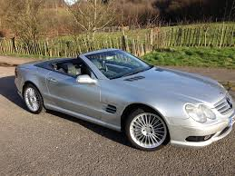 used 2003 mercedes benz amg sl 55 amg kompressor for sale in