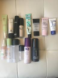 makeup declutter 2017 part 1 primers u0026 sprays album on imgur