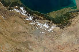 tehran satellite map deadly smog shrouds tehran image of the day