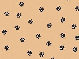 cheetah print tissue paper animal print tissue paper paw print kraft 240 sheets