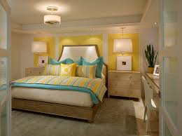 Yellow Bedroom Design Ideas Yellow And Blue Interiors Living Rooms Bedrooms Kitchens
