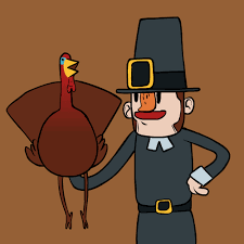 animation thanksgiving gif by gif find on giphy