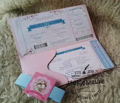 Boarding Pass Wedding Invitation Card Cute Boarding Pass Wedding Invitation Wedding Invitations