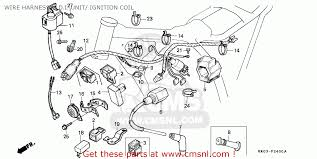 honda xr200r 1984 e australia wire harness c d i unit ignition