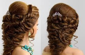 bridal prom hairstyle for long medium hair makeup videos