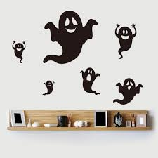 apply halloween wall decals inspiration home designs image of cute halloween wall decals