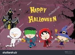 happy halloween image happy halloween card stock vector 479072143 shutterstock