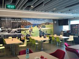 Gbt singapore office pantry american express global business