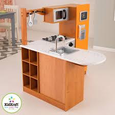amazon com kidkraft limited edition orange and honey kitchen amazon com kidkraft limited edition orange and honey kitchen 00192 toys games
