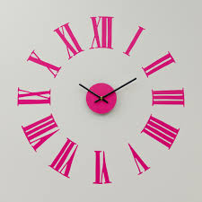 Weird Wall Clocks by Bedroom Pink Wall Theme And Curtains On The Hook Connected