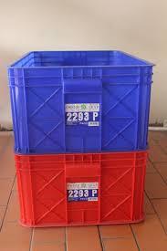 Jual Keranjang Container Plastik Bekas jual keranjang kontainer plastik tipe 2293 p green leaf www