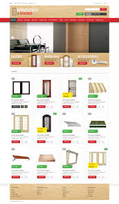 Cheap Home Decor Online Store Windows Doors Store Opencart Template 48919