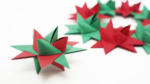 origami froebel star traditional christmas youtube