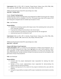 web services resume resume joseph gregory java
