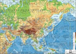 Map Of The Asia by Thematic Map Of Asia Thematic Map Of Asia Thematic Maps Of