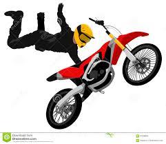 freestyle motocross tricks motocross jump graffiti style isolated vector illustration stock