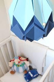 suspension origami diy suspension origami bleu ciel et bleu marine suspension fait