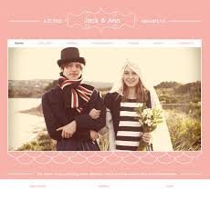 16 best wedding website templates design freebies