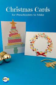 christmas cards for preschoolers to make kidz activities i