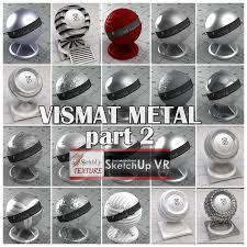 sketchup texture vismat metal part 2