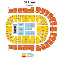o2 arena floor seating plan o2 seat plan for walking with dinosaurs the o2 arena