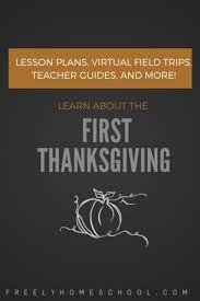 free thanksgiving lesson plans a free field trip