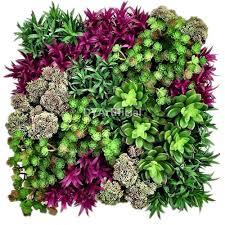 50x50cm artificial succulents plants wall panel dongyi