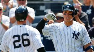 How Aaron Judge Became A Bomber The Inside Story Of The Yankees - tyler austin aaron judge hit first home runs new york yankees
